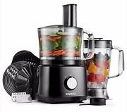 Emperial Food Processor Blender Chopper Juicer Dough Mixer 2 Speed And Pulse 750w