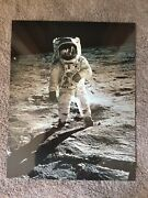 Moon Landing Photo Created And Sold By Victor Hasselblad Camera 1969 Solid Mount
