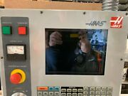 Haas Vf Mill/lathe Operator Panel With Lcd Monitor Light Floppy Drive