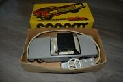 Vintage Soviet Tin Car Toy With Battery Remote Control Collectible Made In Ussr
