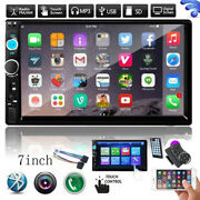 Bluetooth Car Radio Stereo 7 Inch Double 2din Fm Usb/mp5 Player Touch Screen Tf