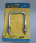 Seachoice 57231 7/16 U- Bolt With Nuts And Lock Washers Free Shipping