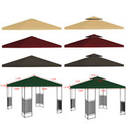 10and039x10and039 Gazebo Tent Top Canopy Replacement Sunshade Patio Outdoor Garden Cover