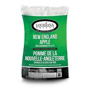 Hardwood Pellets England Wood Smoker Grilling Bbq Grill Cooking 40 Lb Natural
