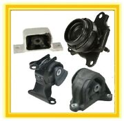 4 Motor Mounts For 2002-2006 Acura Rsx Base 2.0 L4 Auto Engine And Trans 03 04 05