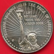 1 Oz. Silver Round .999 Liberty Mint Eternal Vigilance Is The Price Of Liberty