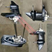 Lower Unit Gearcase Fit Short Shaft Tohatsu Nissan Mercury Outboard 4hp 5hp 6hp