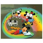 Disney, Jim Warren What Does Mickey Dream Signed Limited Edition Canvas