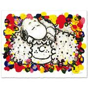 Everhart Why I Like Big Hair Signed Limited Edition Peanuts Lithograph Coa