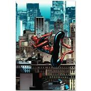 Marvel Comics Numbered Limited Edition Amazing Spider-man 14 Canvas Art