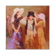 Pino Dress Up Ap Artist Embellished Limited Edition On Canvas Coa