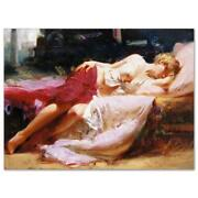 Pino Dreaming In Color Ap Artist Embellished Limited Edition On Canvas Coa