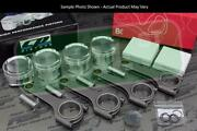 Cp X-style Pistons Brian Crower 625+ H Beam Rods Vtec B18a B18b 81.5mm 12.51