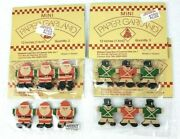 Mini Paper Garland Toy Soldiers And Santa Midwest Cannon Falls
