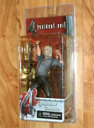 Resident Evil 4 Chainsaw Ganado Figure Action Figure Neca Playstation 2 Ps2