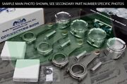 Cp Pistons Eagle Rods Tsx Accord Crv K24 K24a 10.01 87.5mm