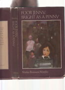 Poor Jenny Bright As A Penny-shirley Murphy 1974-1st Ed-hb/dj-urban Classic Vg+