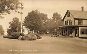 Dublin Nh The Oval The Gleason Store Post Office Gas Pump Real Photo Postcard
