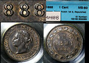 Elite Varieties Canada Large Cent 1888 Repunched 888 - Cccs Ms60 A382