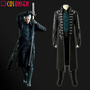 Cosonsen Devil May Cry 5 Costume Vergil Cosplay Halloween Outfits Fancy Dress