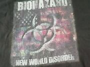 Biohazard 1999 New World Disorder Vintage T Shirt Nyhc Cro Mags Life Of Agony