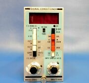 Unholtz-dickie Model D33 Signal Conditioner Untested