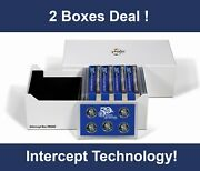 2 Lighthouse Intercept Shield Us Mint Proof Sets Coin Protection Storage New Box