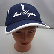 Ben Hogan Hat Blue Stitched Adjustable Baseball Cap New With Tags St36