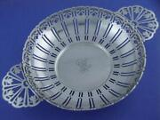 Rare Sterling And Co Punch Strainer W/ Pierced Tulip Patterns C1907