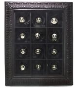 Nightmare Before Christmas The Twelve Faces Of Jack Silver 925 Ring Box Set Rare