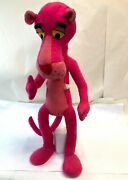 Vintage Large 33 Mirisch Geoffrey 1964 Bendable Mighty Star Pink Panther Plush