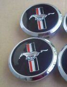 Ford Mustang Running Horse Pony 68 Mm Hub Emblems Badge Rims Wheel Center Caps