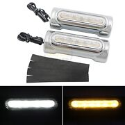 Engine Guard Highway Bar Switchback Driving Light Turn Signal For Harley Touring