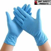 100-1000pcs Nitrile Gloves Powder Latex Free Thicken 4 Mil Durable Rubber S/m/xl