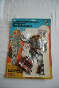 The Lone Ranger Rides Again Marx Gabriel The Kidnappers 2 Outfit Moc
