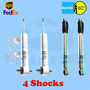 Bilstein B8 5100 6 Front And 4 Rear Lift Shocks For Chevy /gmc 07-`13 2wd Kit 4