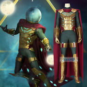 Spider-man Far From Home Mysterio Full Suitcosplay Costume Beck Halloween Outfit