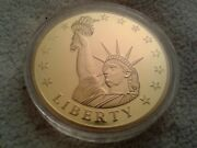 American Mint Commemorative Coin Birth Of Our Nation Statue Of Liberty Authentic
