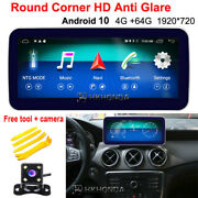 Anti Blu-ray Screen Android 10 Car Gps For Mercedes Benz Gla Cla A Class 2016+