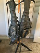 Army Acu Digital Flc Vest Rifleman Set Fighting Load Carrier Lbe Lce W/ Pouches