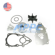 Water Pump Impeller Kit For Yamaha 4 Stroke F225 F250 F300 6p2-w0078-00-00 Boat