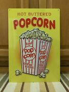 Popcorn Cinema Theater Now Showing Letter Board Movie Home Wall Decor Film Dvd