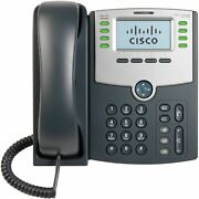 Cisco Spa508g 8 Line Ip Phone With Poe Function Tested With Ringcentral And Vonag