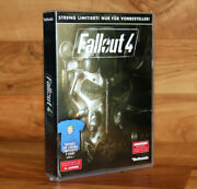 Fallout 4 Limited Preorder Box Contains T-shirt Xbox One Ps4 Collectible No Game