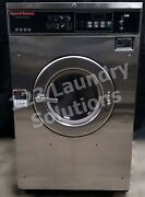 Speed Queen Front Load Washer Coin Op 35lb 208-240v 3ph S/n 1000179872 [ref]