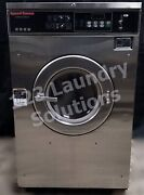 Speed Queen Front Load Washer Coin Op 35lb 208-240v 3ph S/n1000179869 [ref]