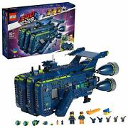 The Lego Movie 2 The Rexcelsior Spaceship Set Micro House Forklift Dropship