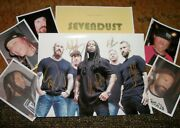 Sevendust Autographed Photo And Photos Real Collectible