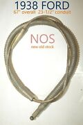 1938 Ford Bx 553 Fw5676 Emergency Parking Rear Brake Cable Western Auto Nos Usa