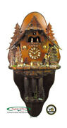 Cuckoo Clocks Witches House With Back Plane 5.8887.01.p New